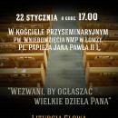 Zaproszenie na Nabożeństwo z okazji Tygodnia Modlitwy o Jedność Chrześcijan